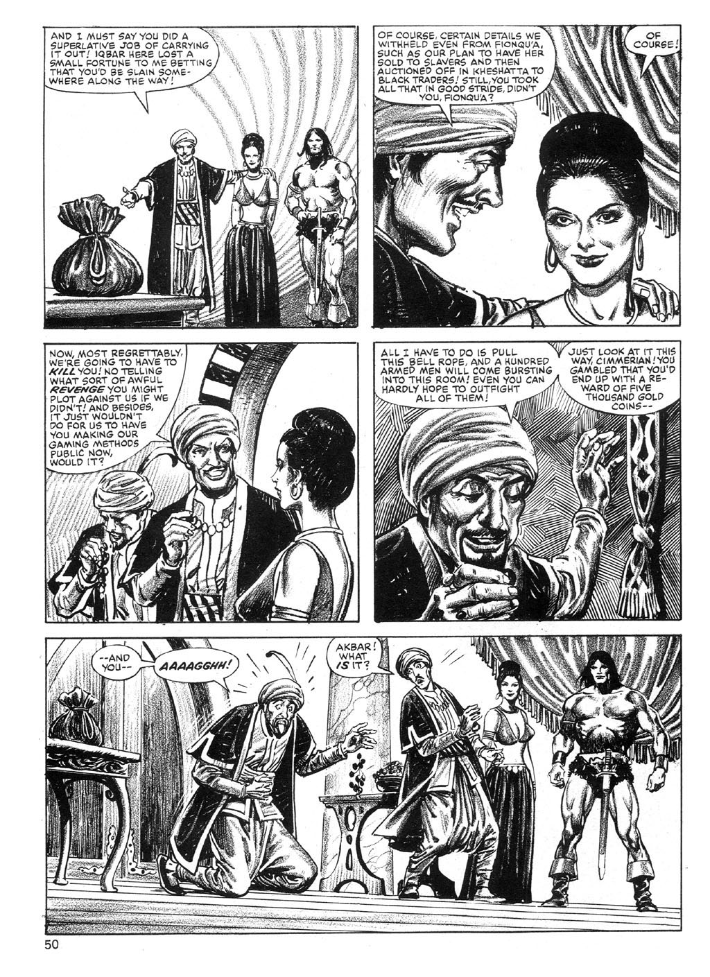The Savage Sword Of Conan Issue #89 #90 - English 49
