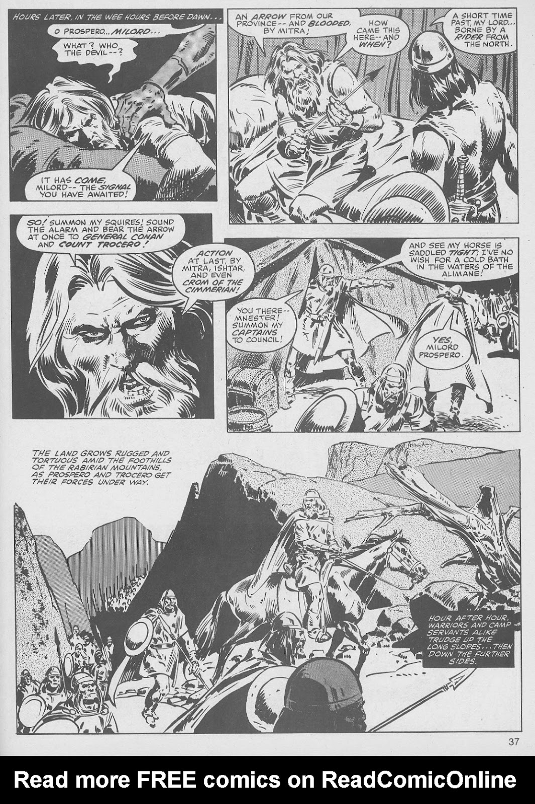 The Savage Sword Of Conan Issue #49 #50 - English 37
