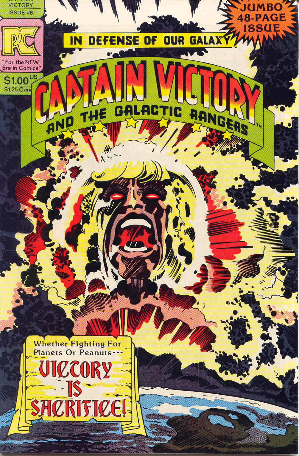 Captain Victory and the Galactic Rangers (1981) 6 Page 1