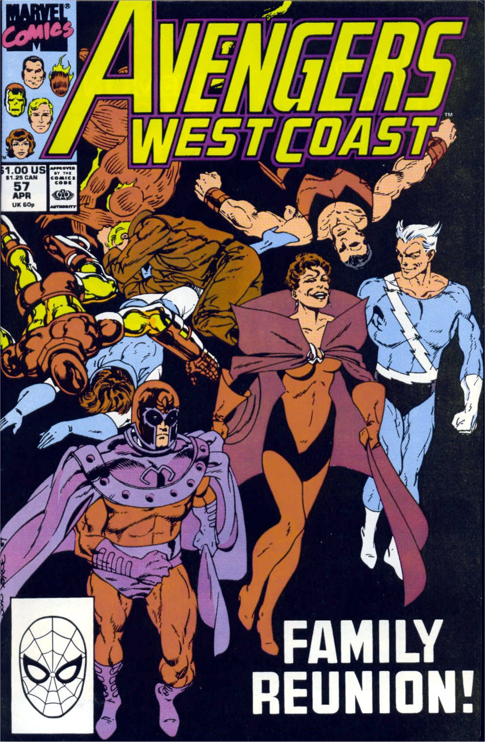 Avengers West Coast (1989) 57 Page 1