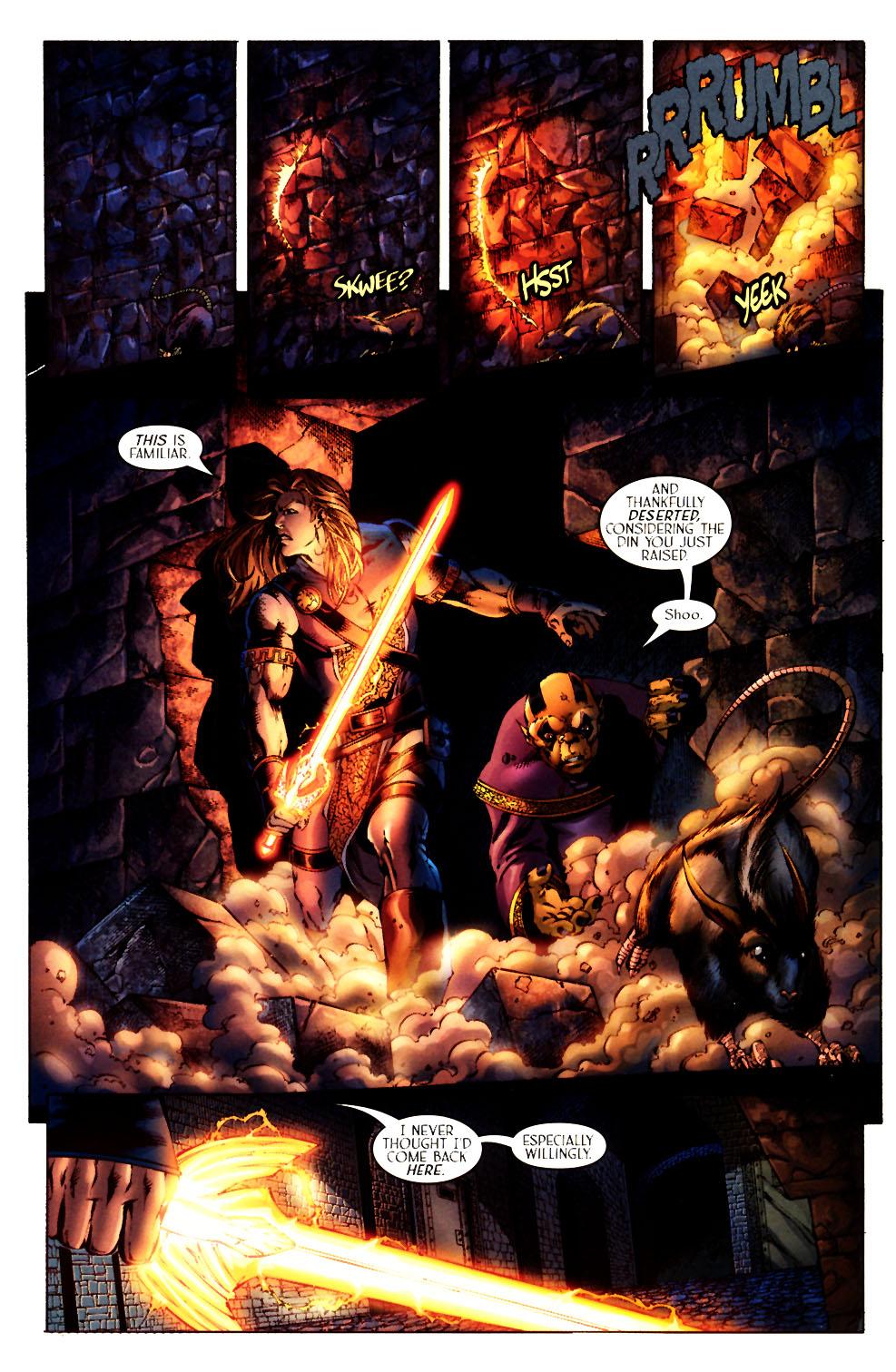 Read online Scion comic -  Issue #12 - 22