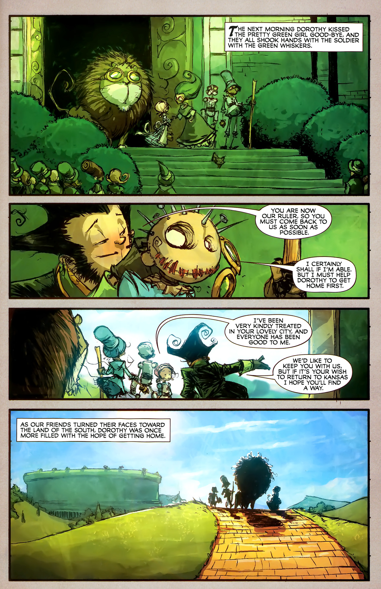 Read online The Wonderful Wizard of Oz comic -  Issue #7 - 19