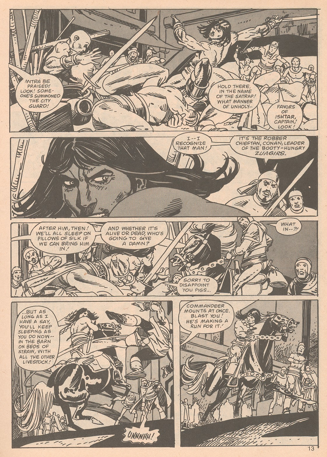 The Savage Sword Of Conan Issue #65 #66 - English 13