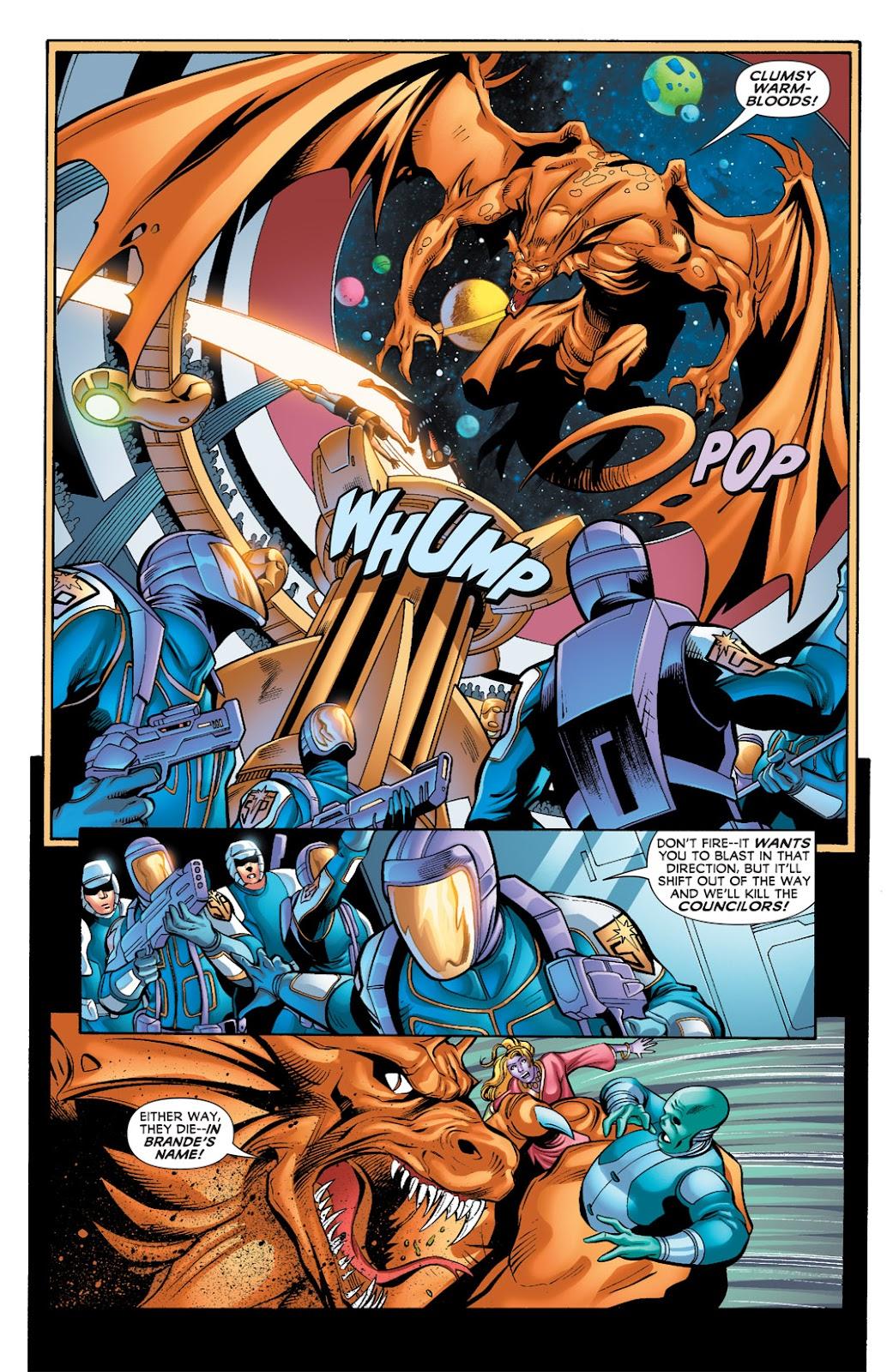 Legion of Super-Heroes (2010) Issue #9 #10 - English 17