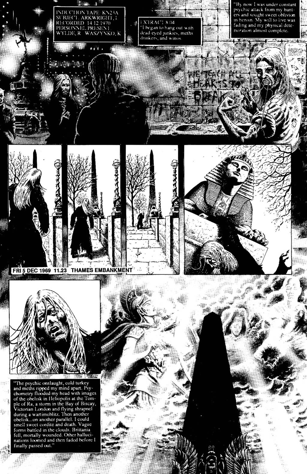 Read online The Adventures of Luther Arkwright comic -  Issue #5 - 11