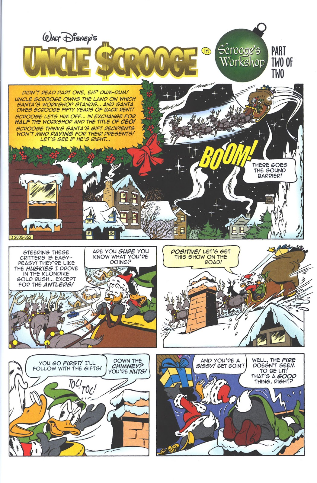 Uncle Scrooge (1953) Issue #382 #382 - English 45