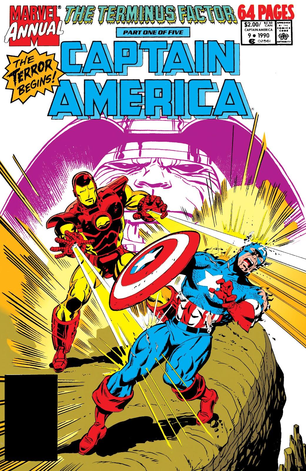 Captain America (1968) _Annual 9 #9 - English 1