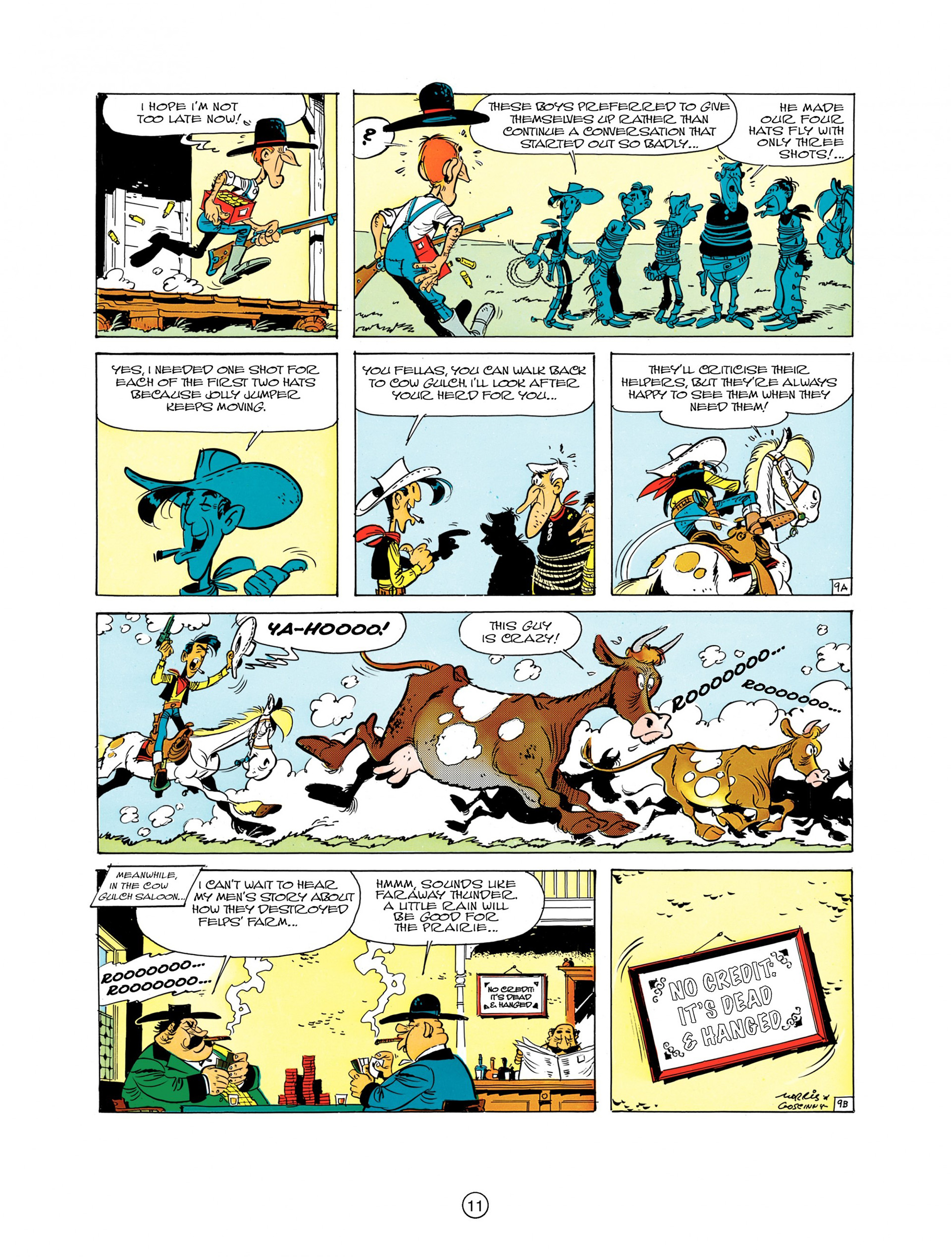 A Lucky Luke Adventure 7 Page 10