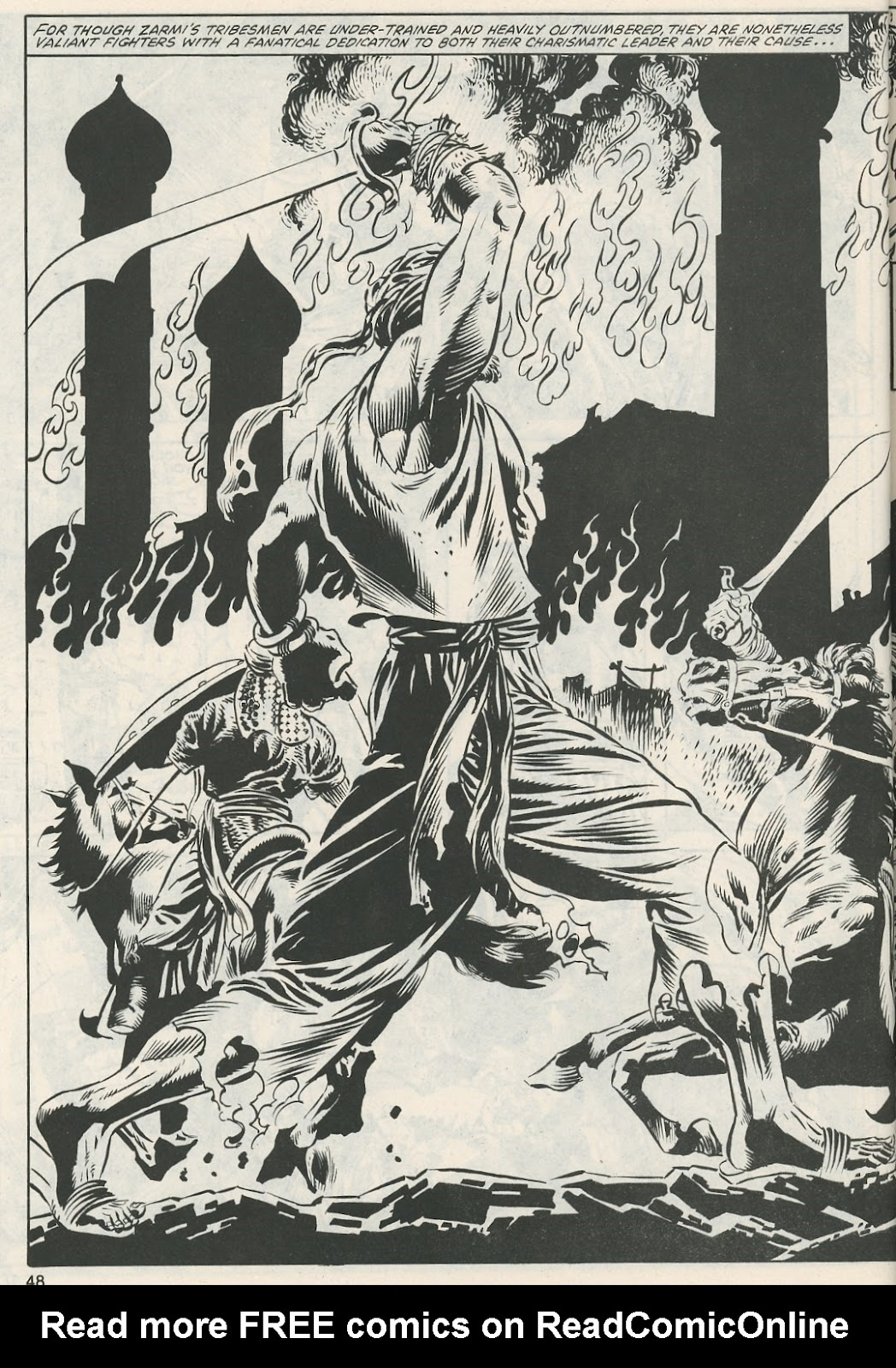 The Savage Sword Of Conan Issue #112 #113 - English 50