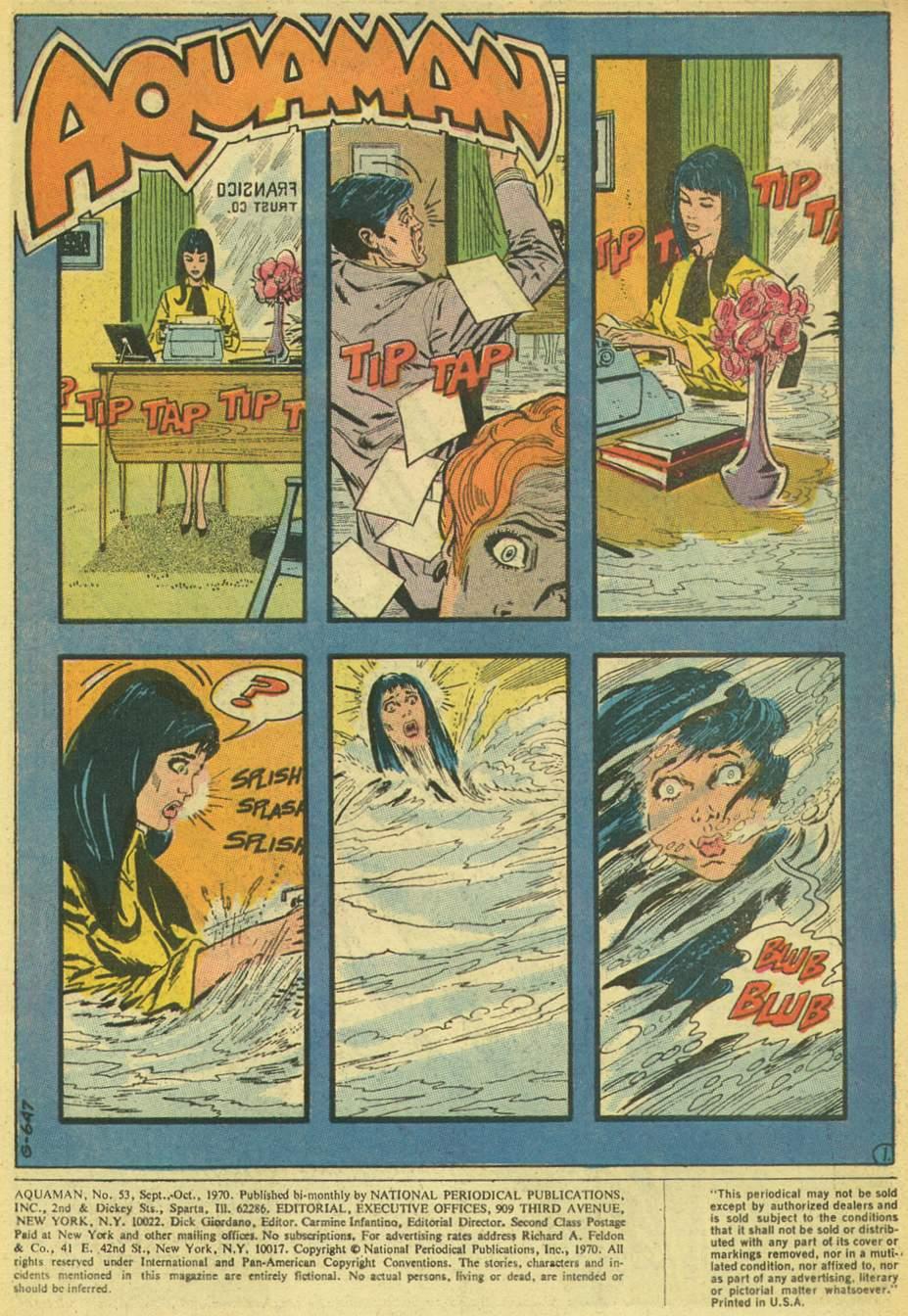 Aquaman (1962) Issue #53 #53 - English 3