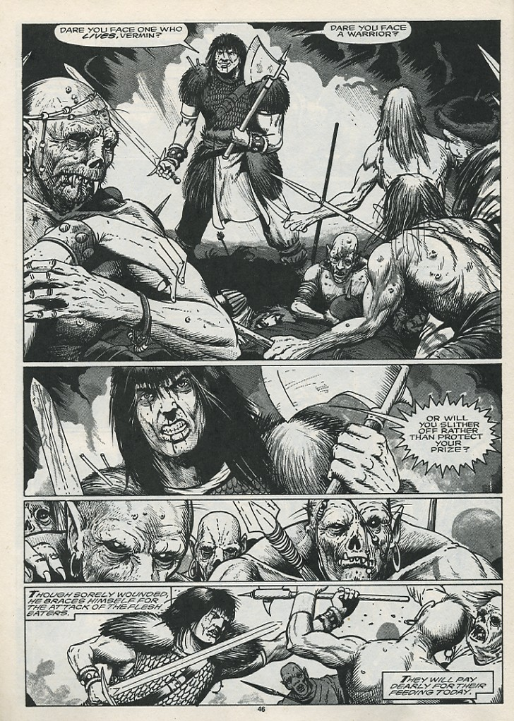 The Savage Sword Of Conan Issue #176 #177 - English 48