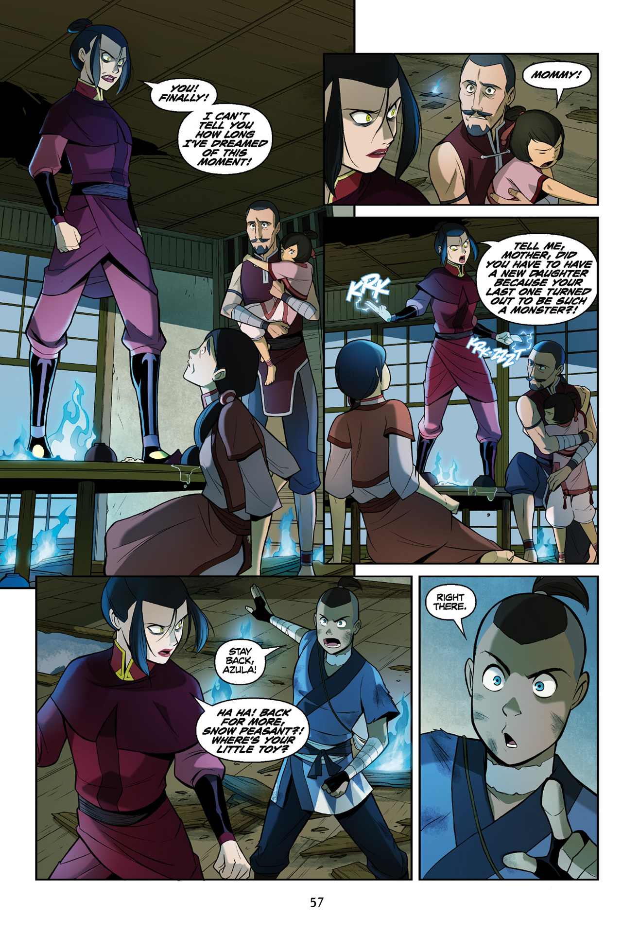 Read online Nickelodeon Avatar: The Last Airbender - The Search comic -  Issue # Part 3 - 58