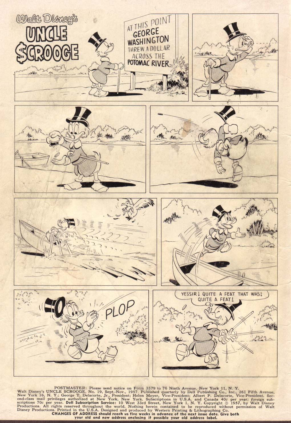 Uncle Scrooge (1953) Issue #19 #19 - English 2