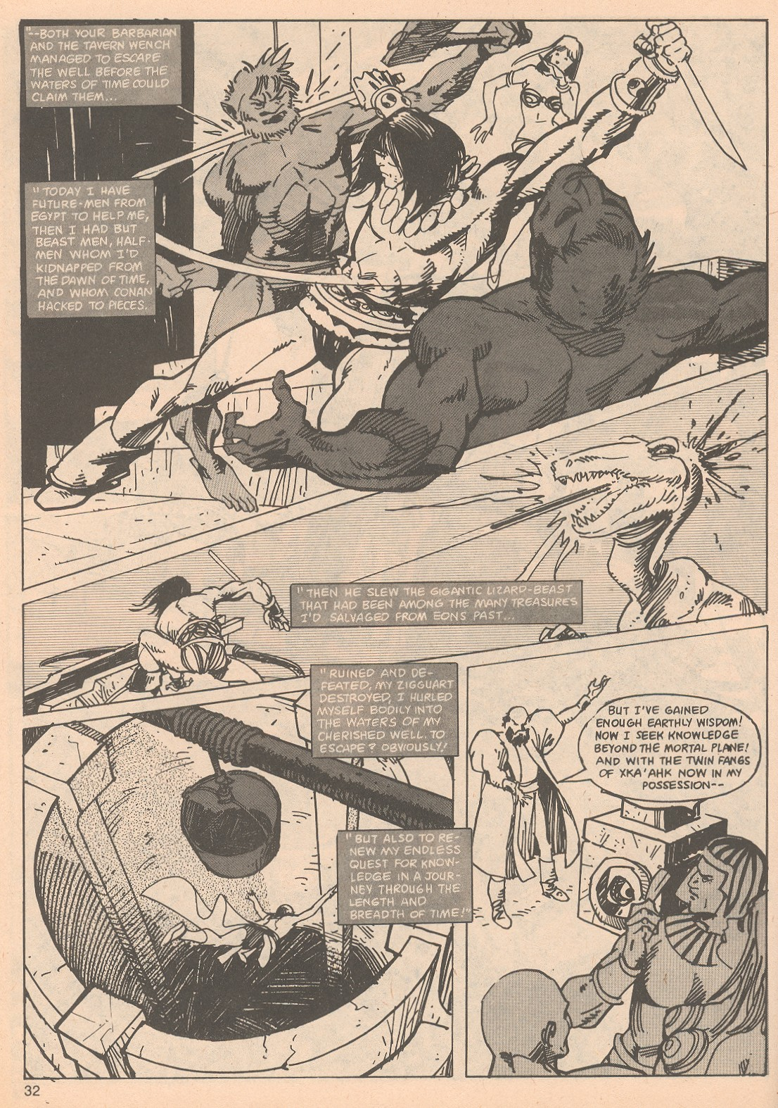 The Savage Sword Of Conan Issue #65 #66 - English 32