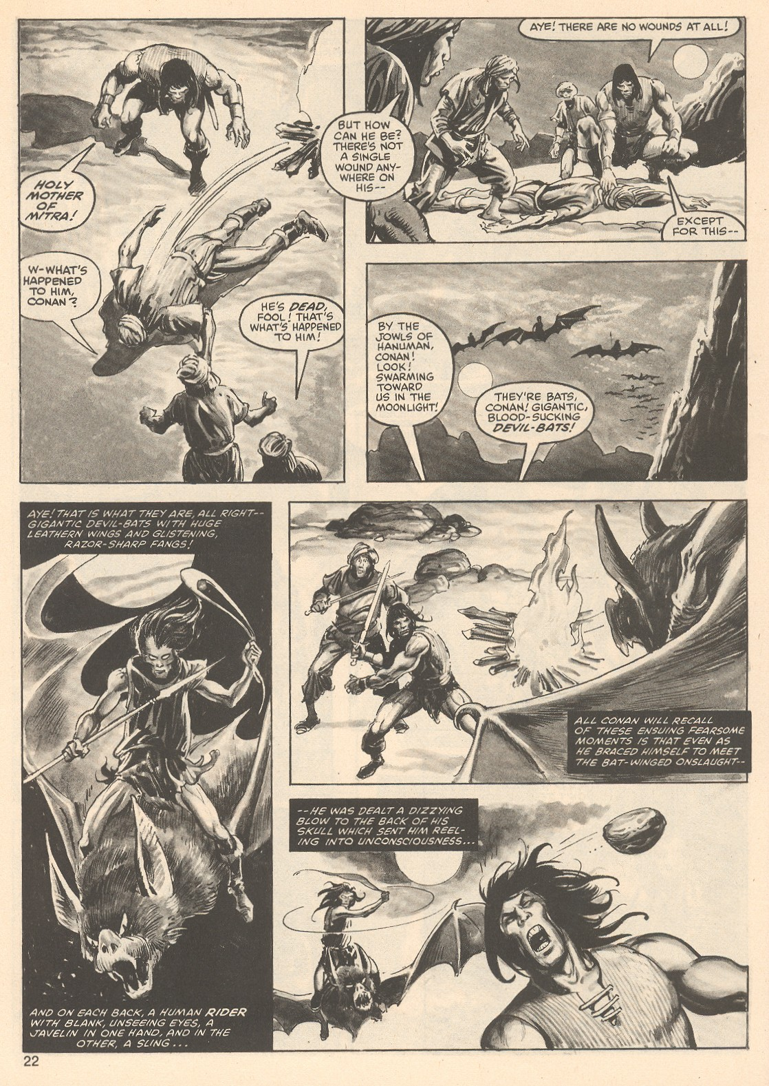 The Savage Sword Of Conan Issue #76 #77 - English 22