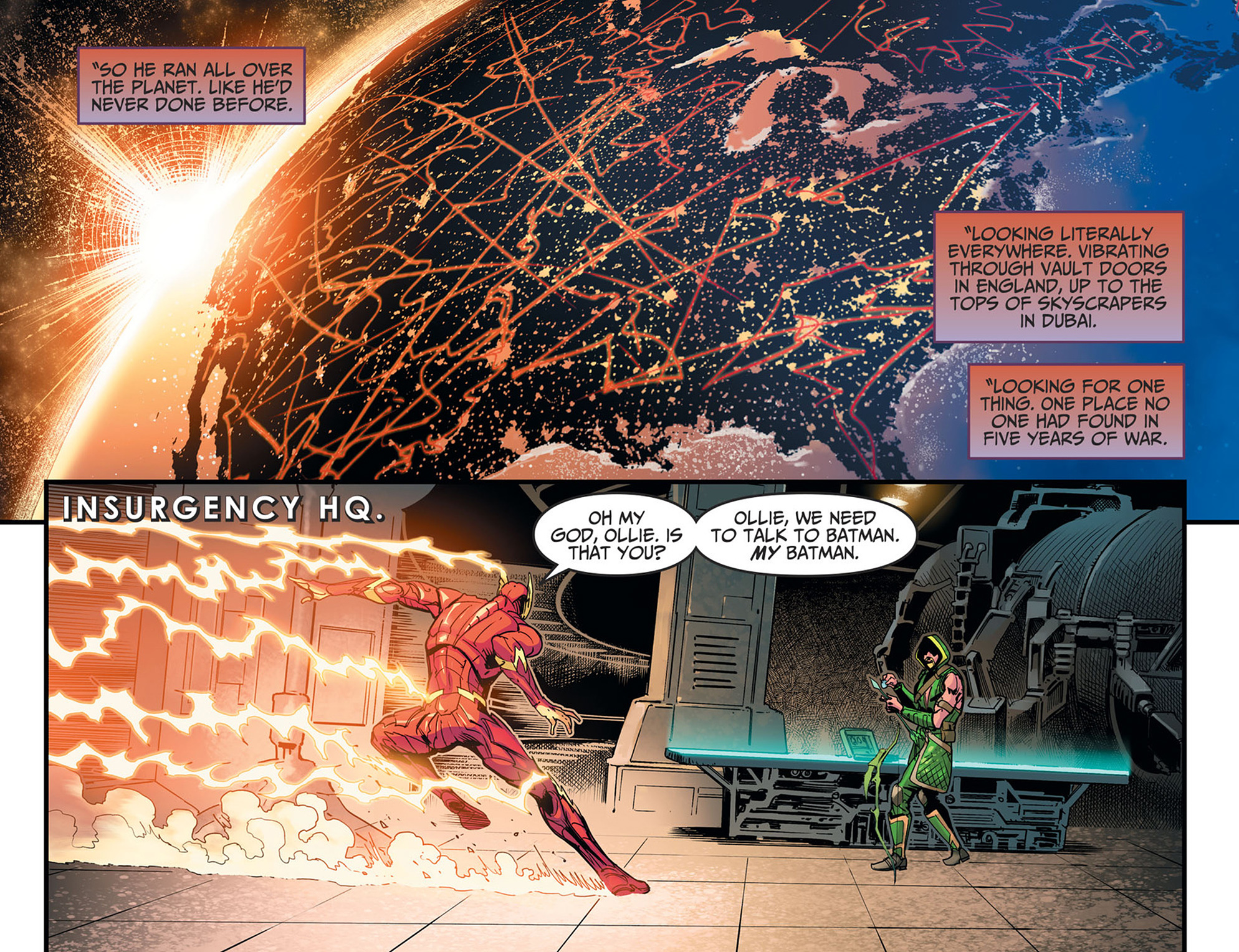 Read online Injustice: Ground Zero comic -  Issue #21 - 10