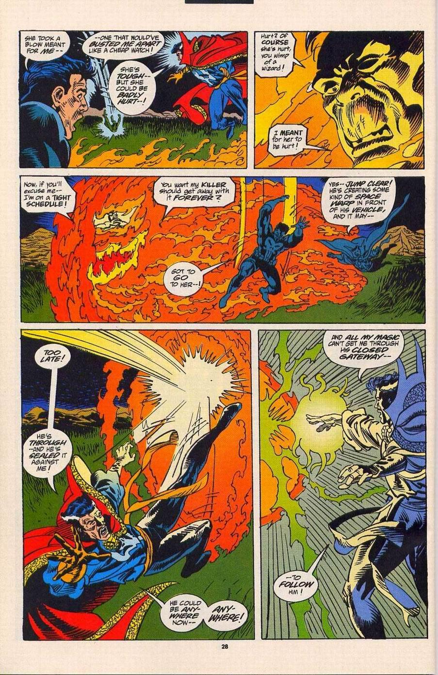 Read online Secret Defenders comic -  Issue #4 - 22