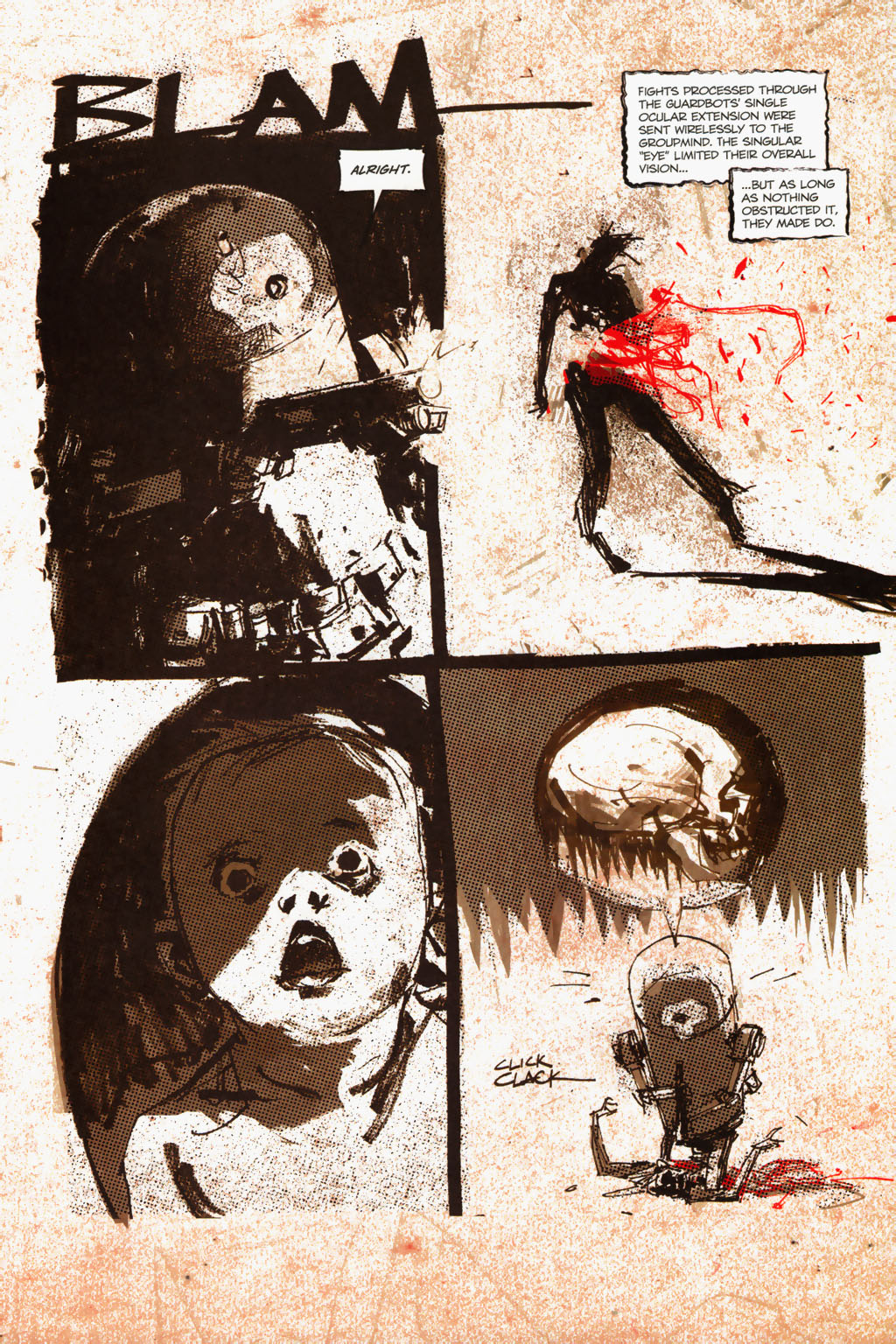 Zombies vs. Robots (2006) Issue #1 Page 21
