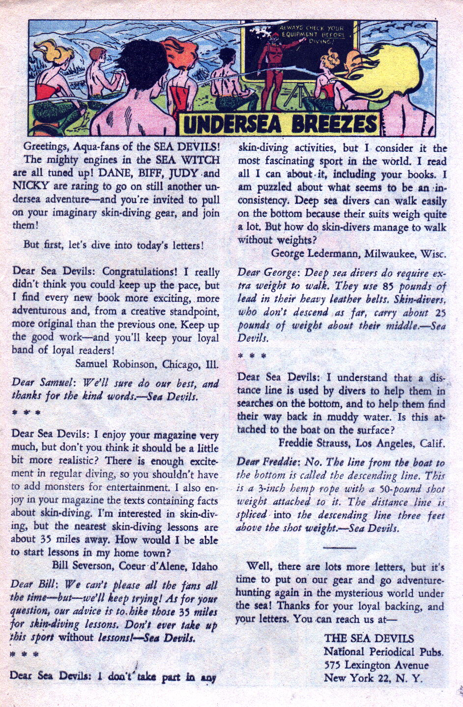 Read online Sea Devils comic -  Issue #14 - 25