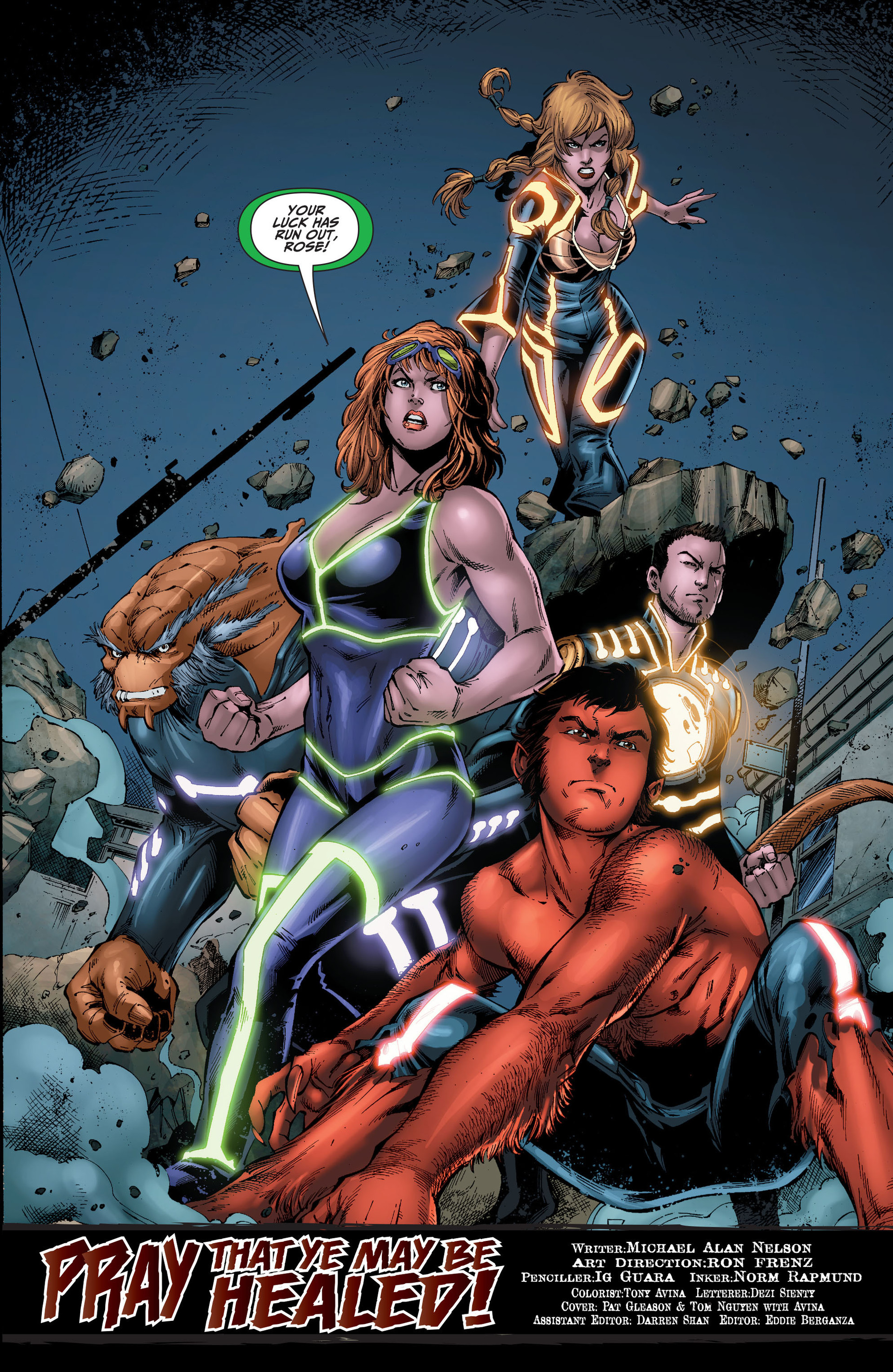 Read online The Ravagers comic -  Issue #8 - 20