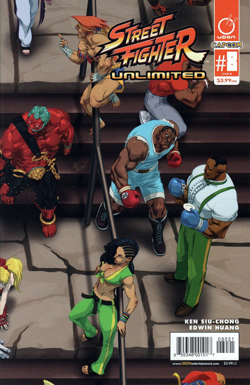 Street Fighter Unlimited Issue #8 #10 - English 1