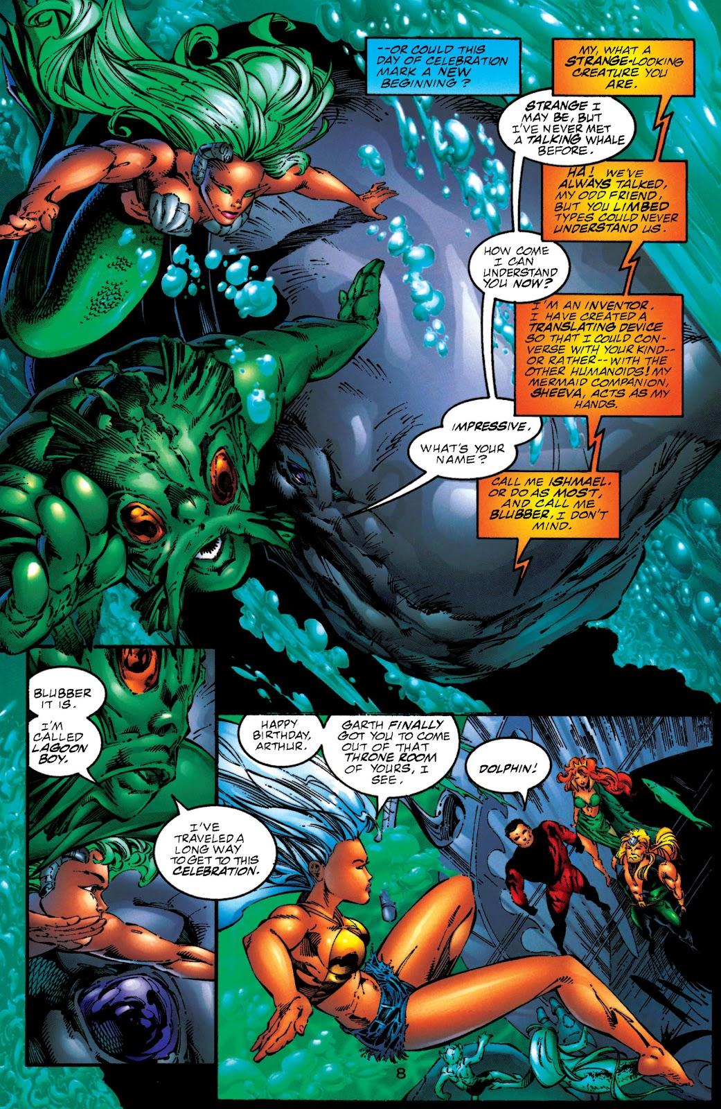 Aquaman (1994) Issue #50 #56 - English 8