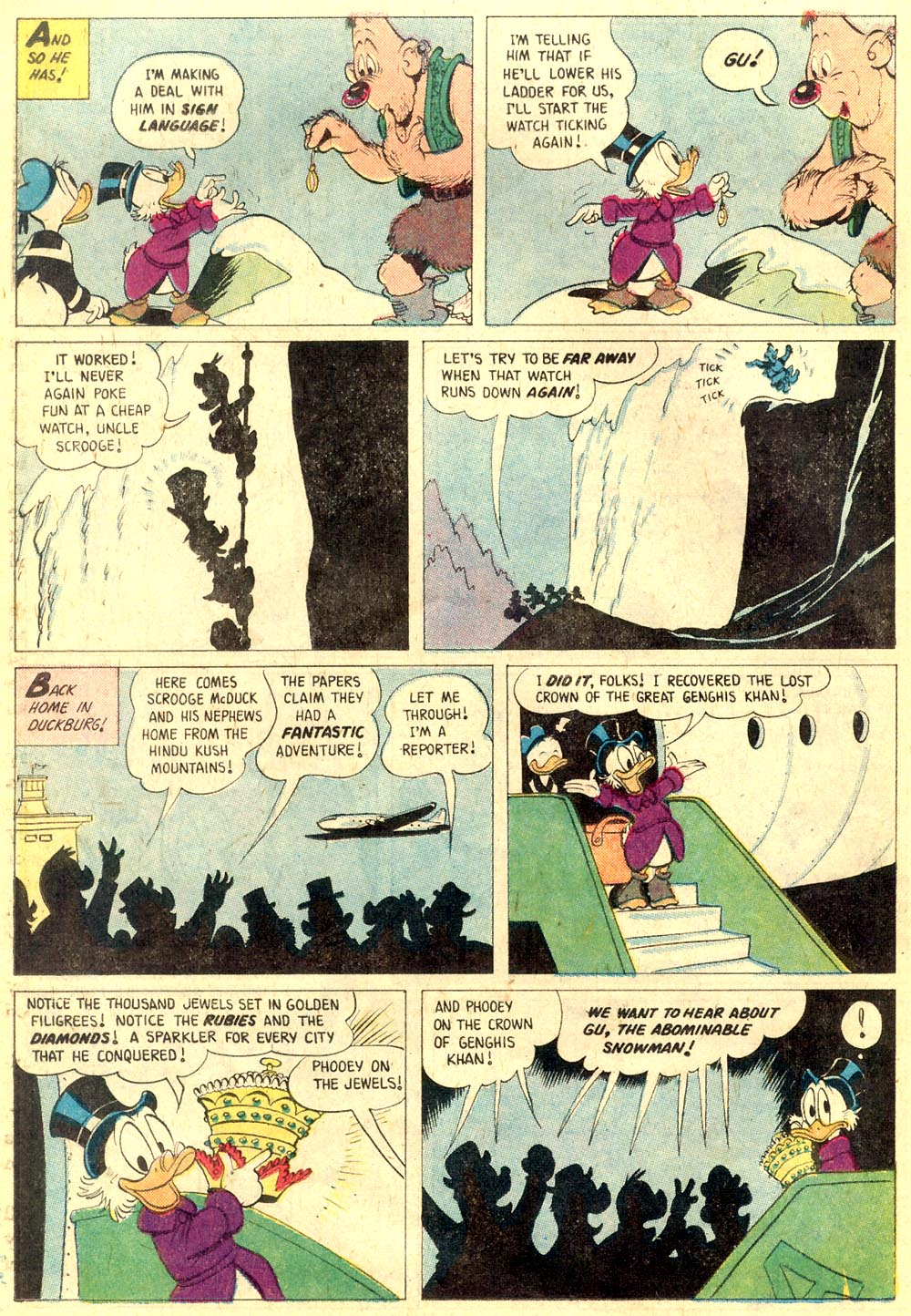 Uncle Scrooge (1953) Issue #161 #161 - English 23