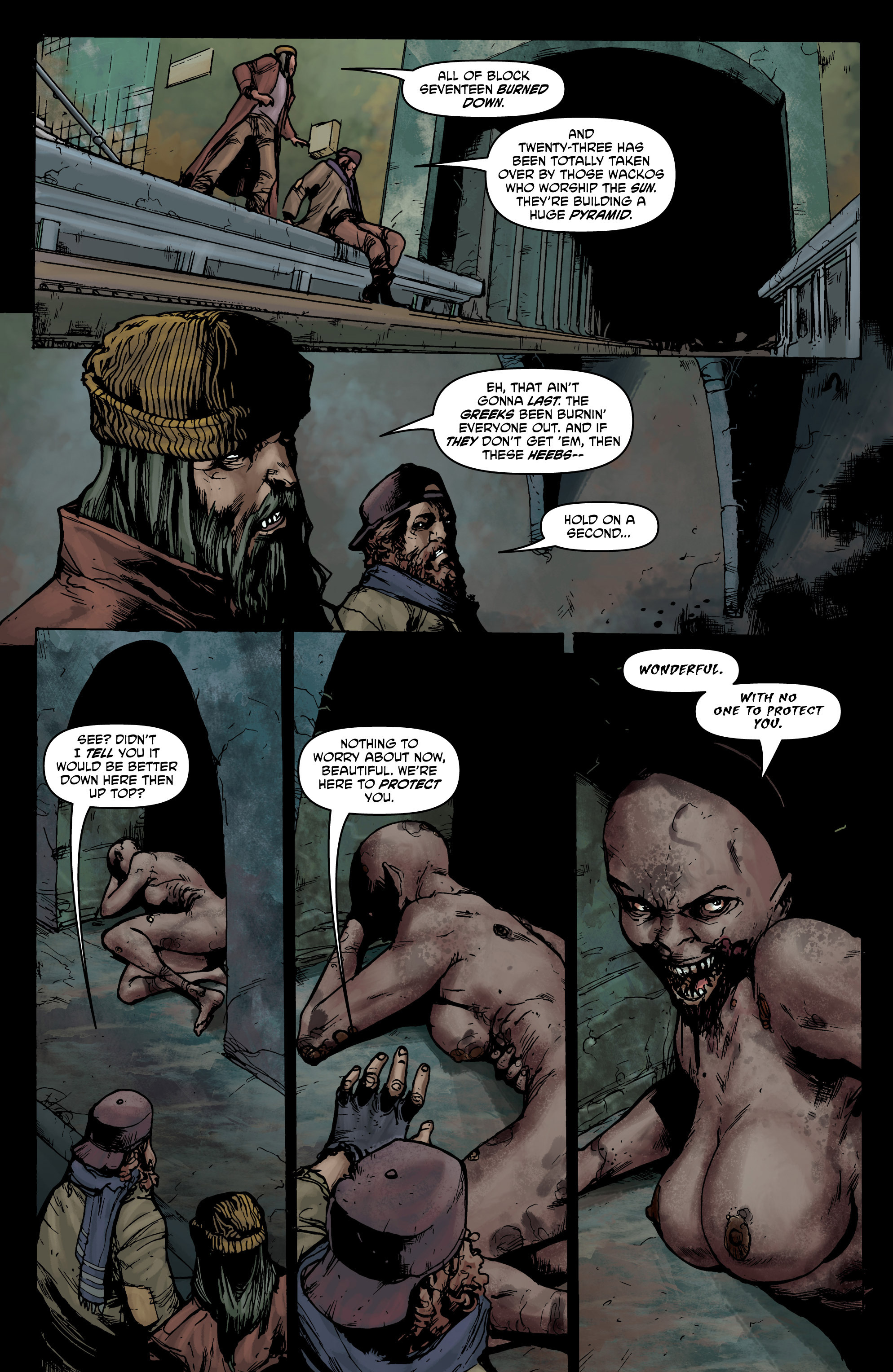 Read online God Is Dead comic -  Issue #44 - 8