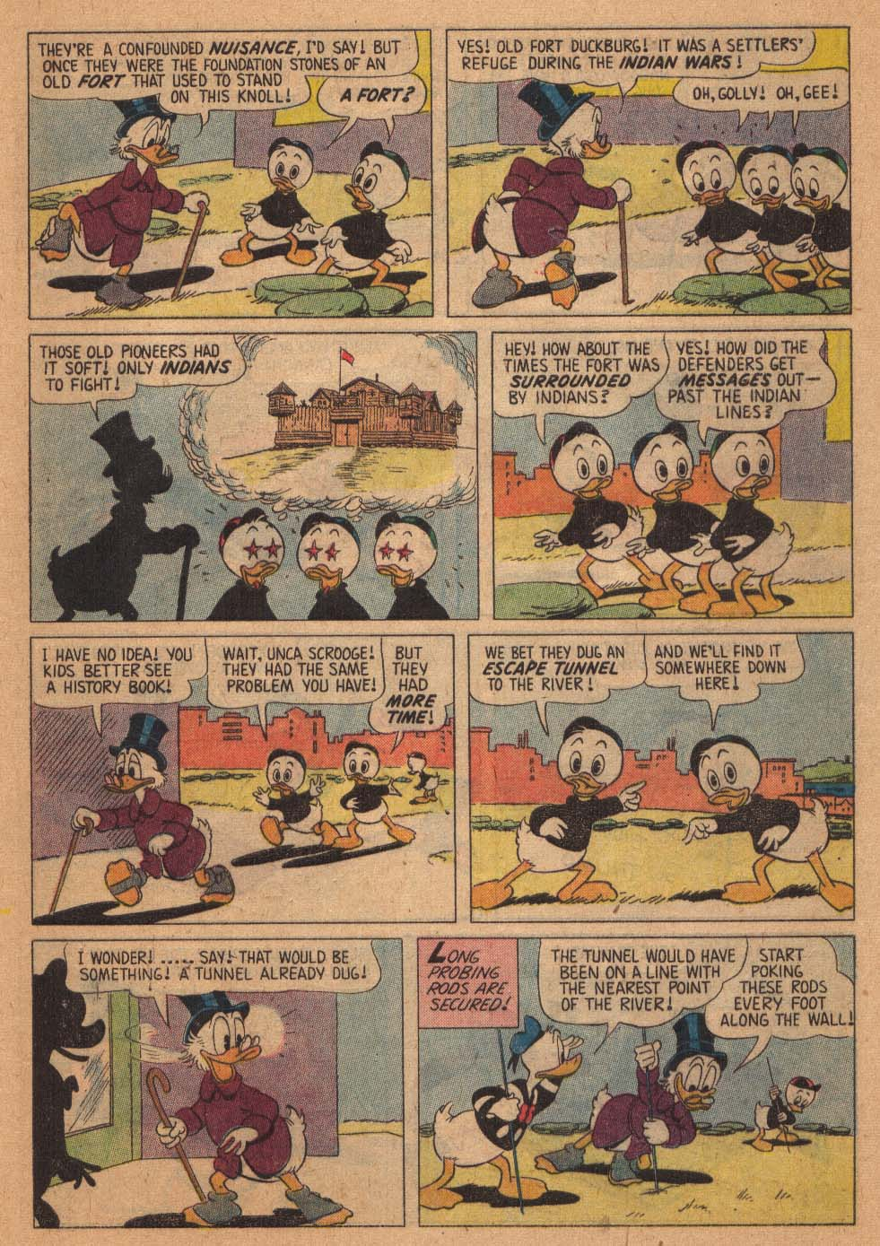 Uncle Scrooge (1953) #21 #384 - English 9