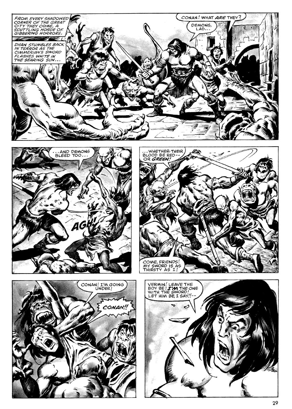 Of Conan  #164 - English 29