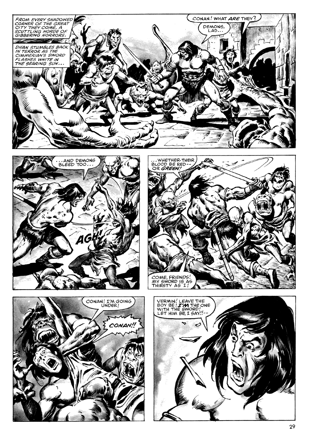 The Savage Sword Of Conan Issue #72 #73 - English 29