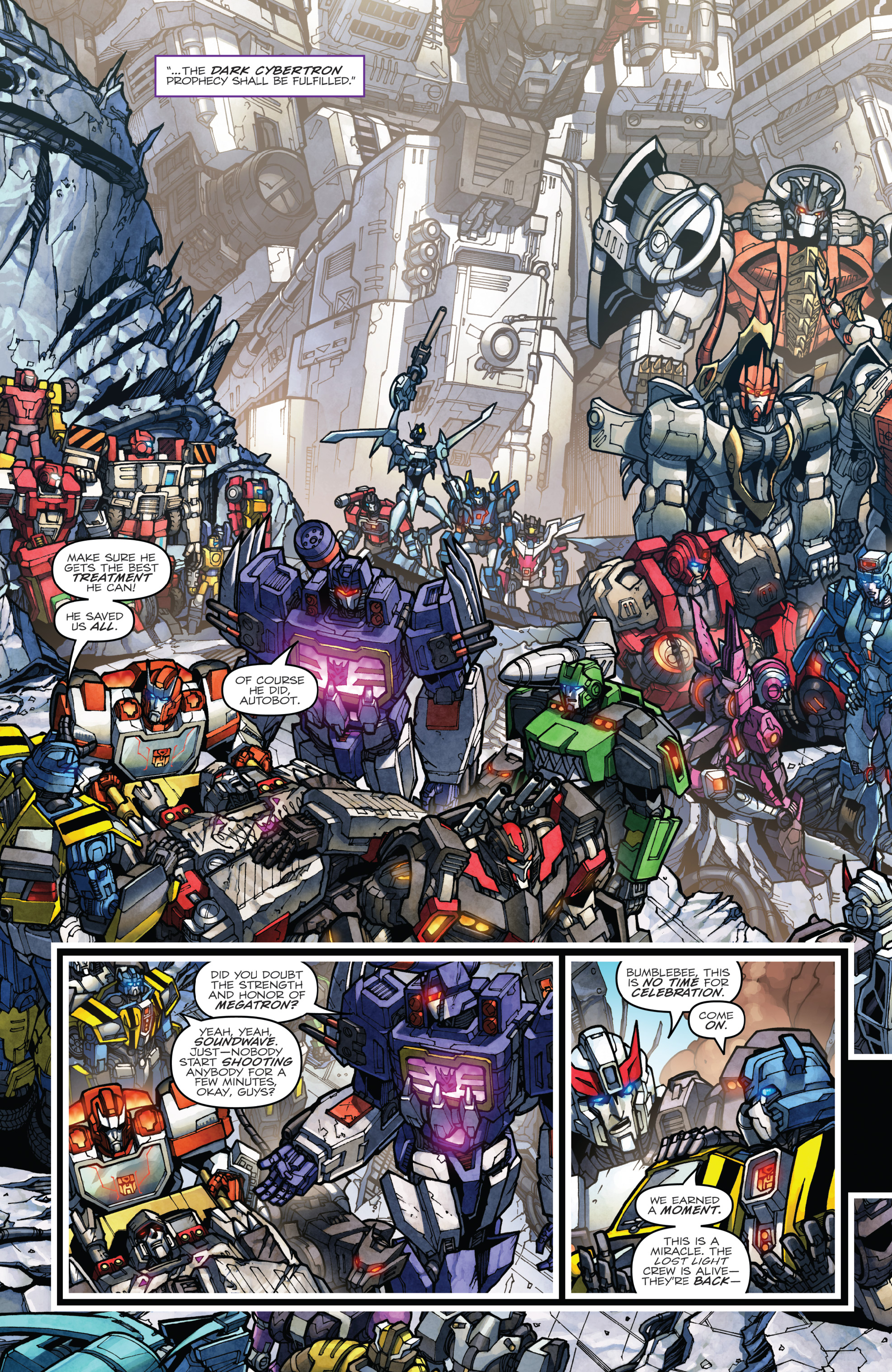 Read online The Transformers: Dark Cybertron Finale comic -  Issue # Full - 81