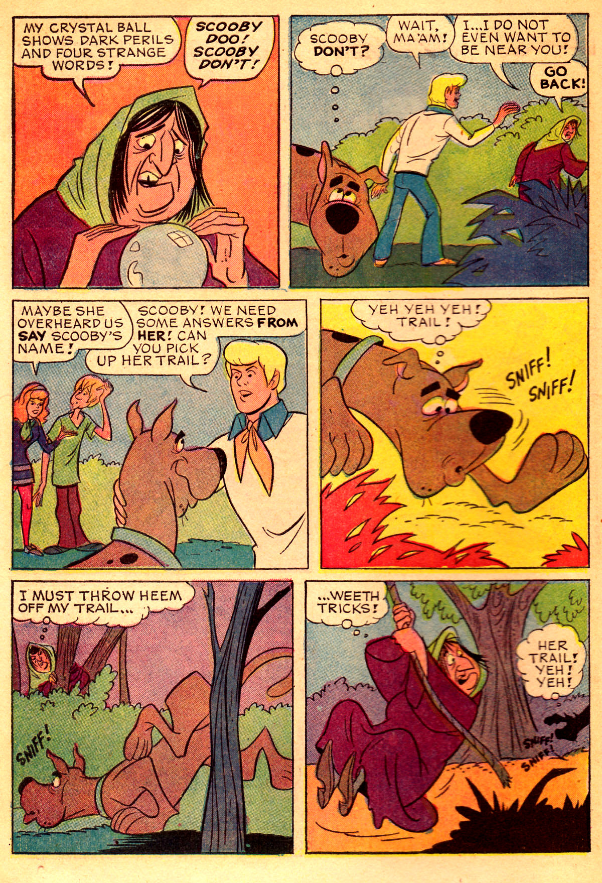 Read online Scooby-Doo... Where Are You! (1970) comic -  Issue #2 - 5