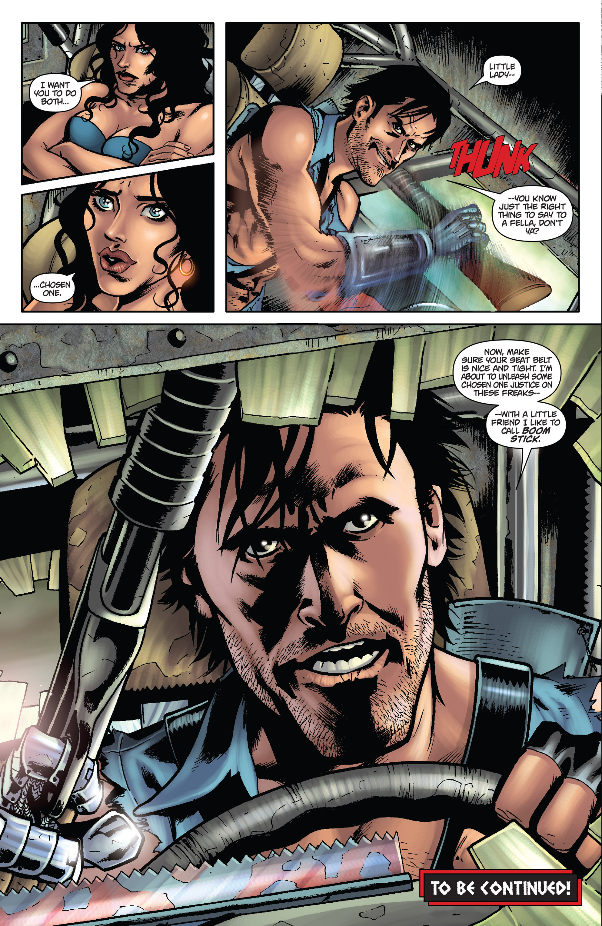 Army of Darkness: The Long Road Home TPB Page 28