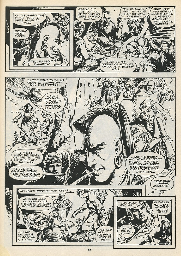 The Savage Sword Of Conan Issue #192 #193 - English 49