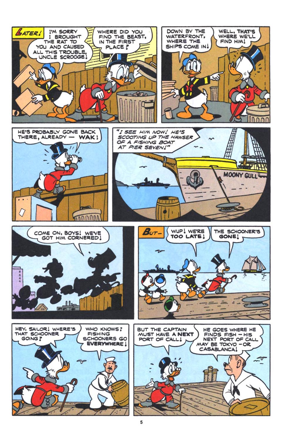 Uncle Scrooge (1953) Issue #250 #250 - English 7