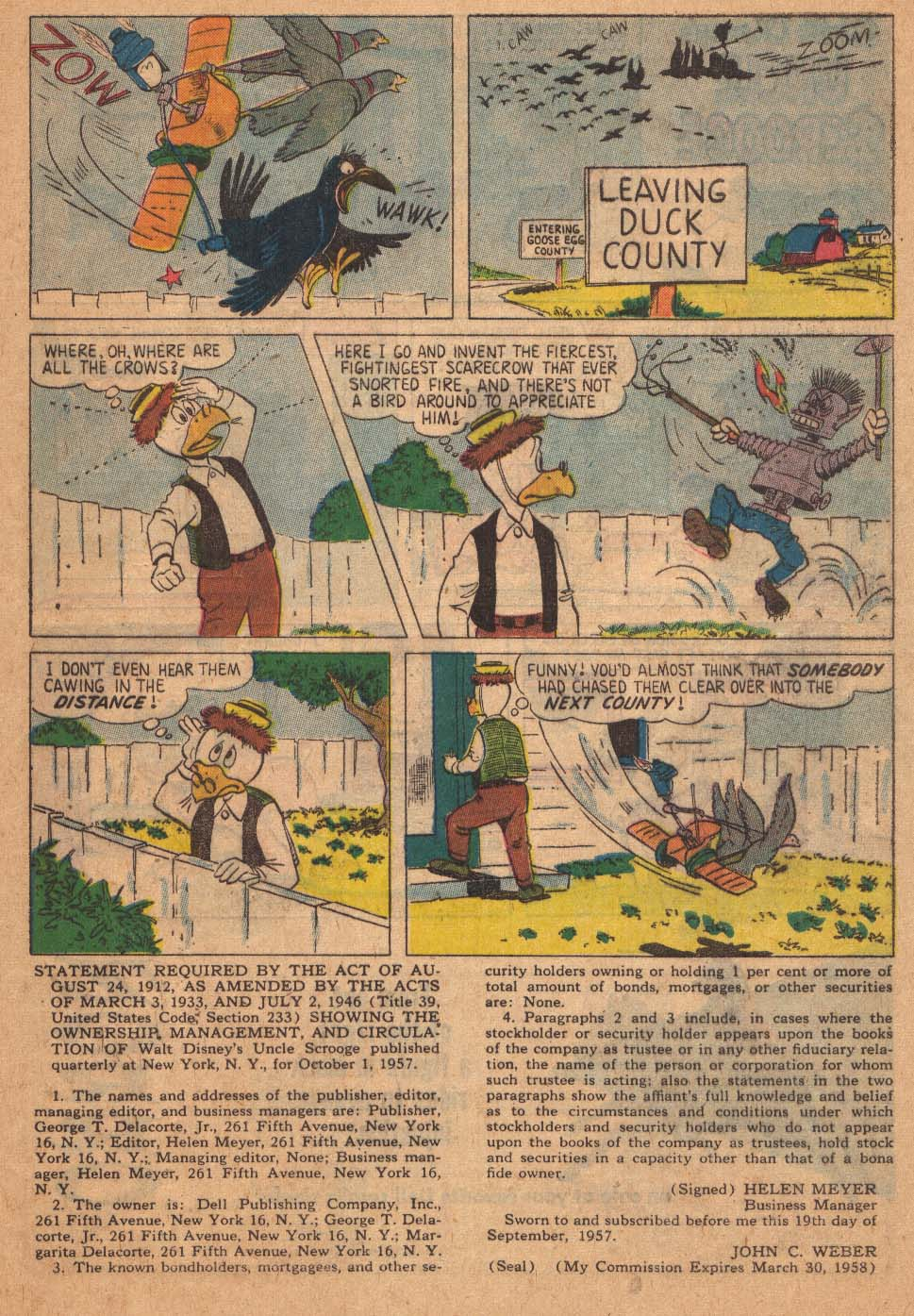 Uncle Scrooge (1953) Issue #21 #21 - English 33