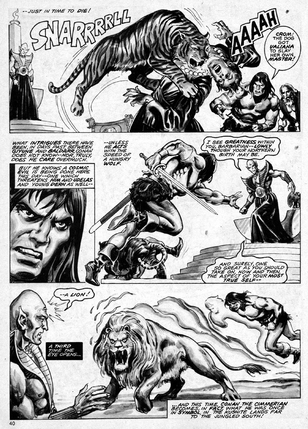 The Savage Sword Of Conan Issue #69 #70 - English 40