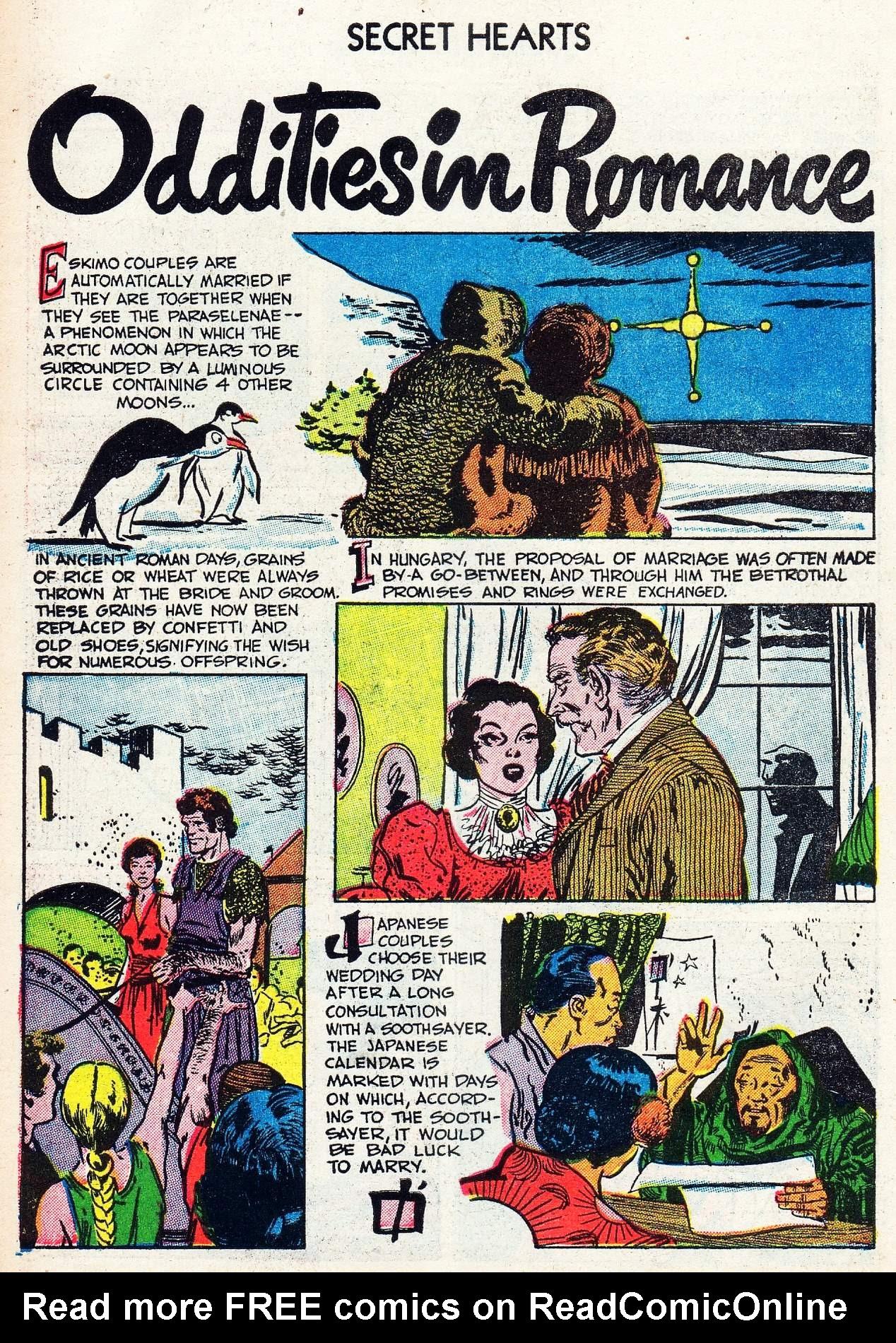 Read online Secret Hearts comic -  Issue #16 - 34