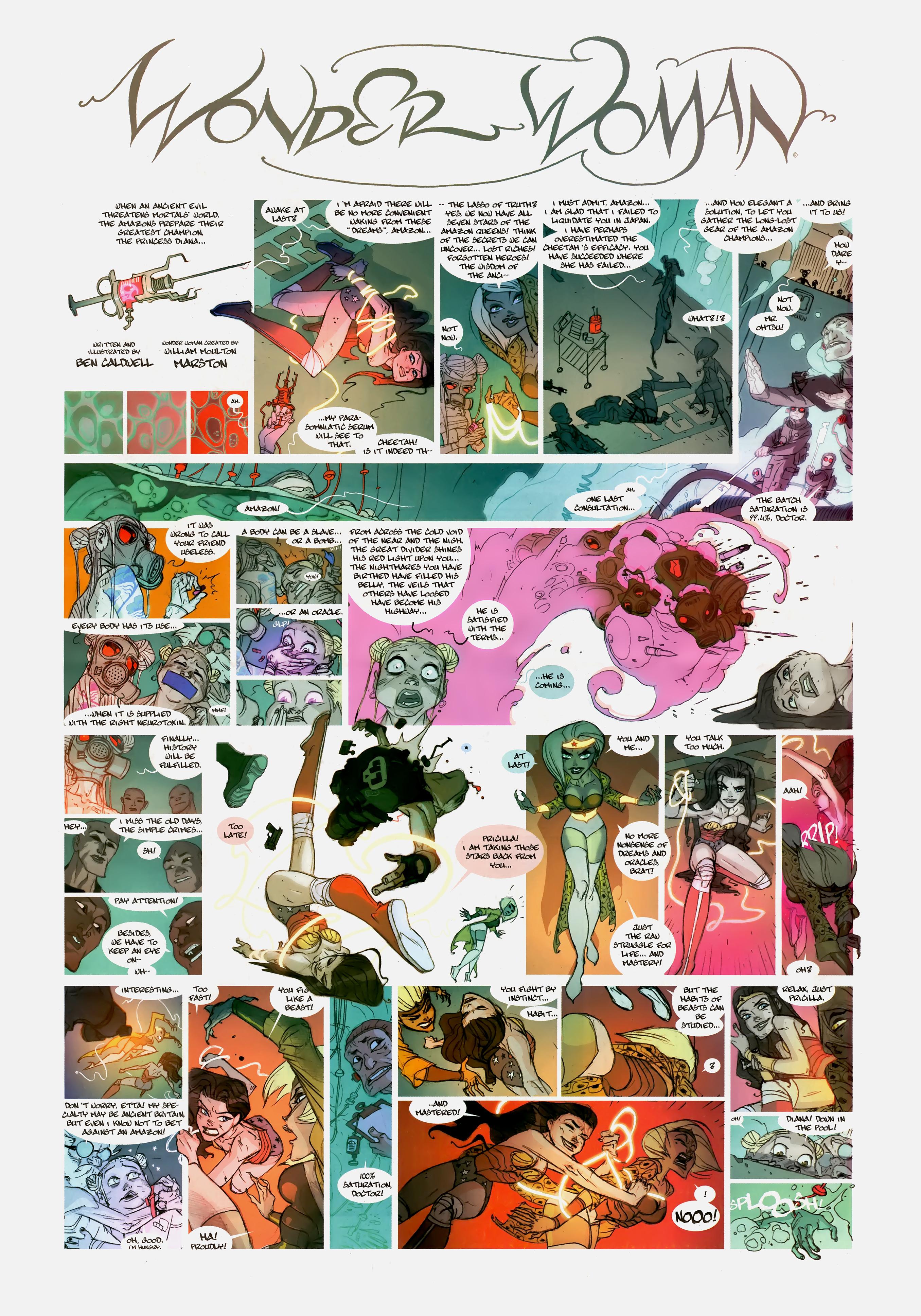 Read online Wednesday Comics comic -  Issue #10 - 12