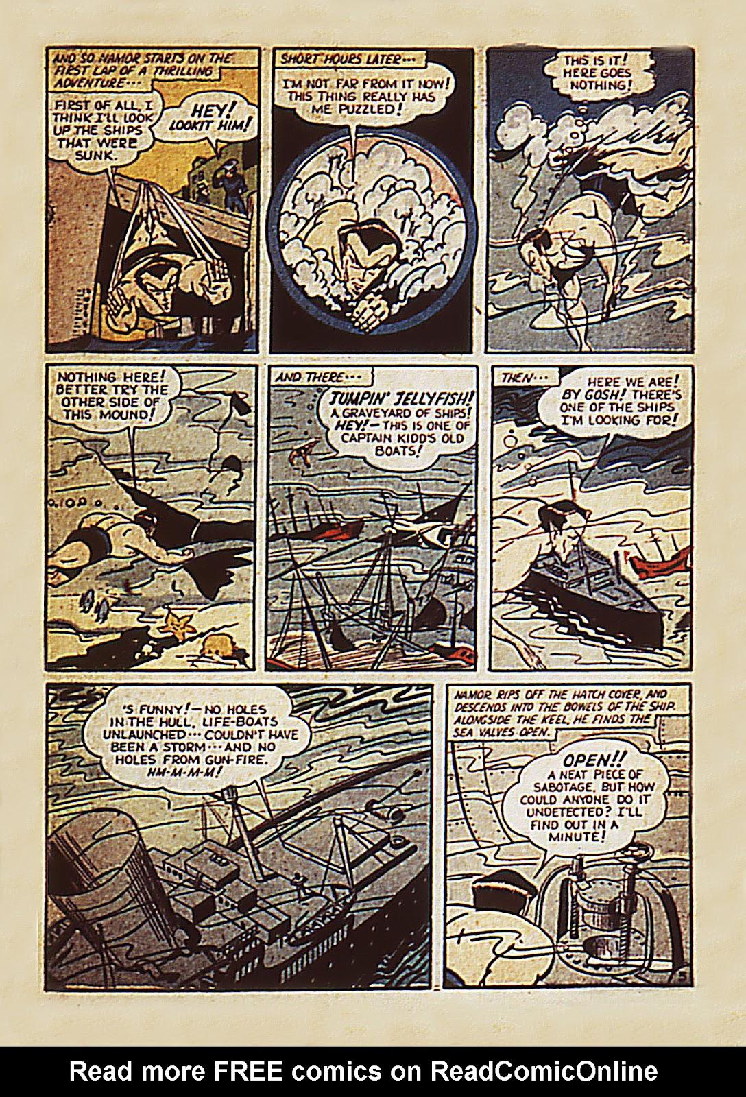 Sub-Mariner Comics Issue #7 #7 - English 5