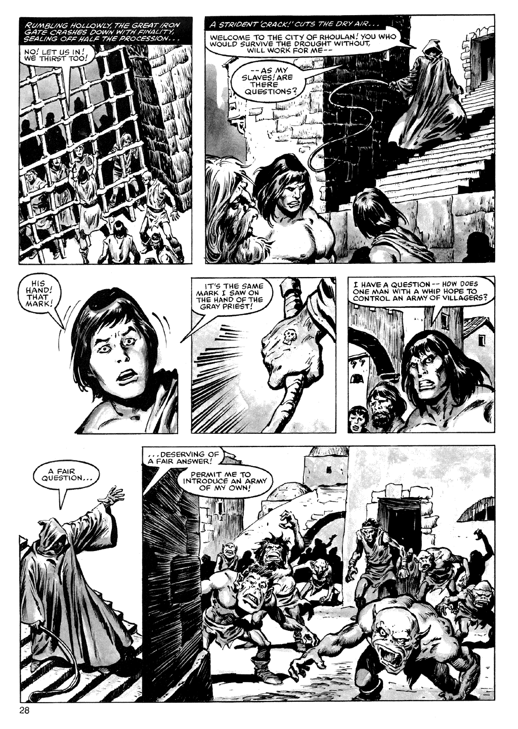 Of Conan  #164 - English 28