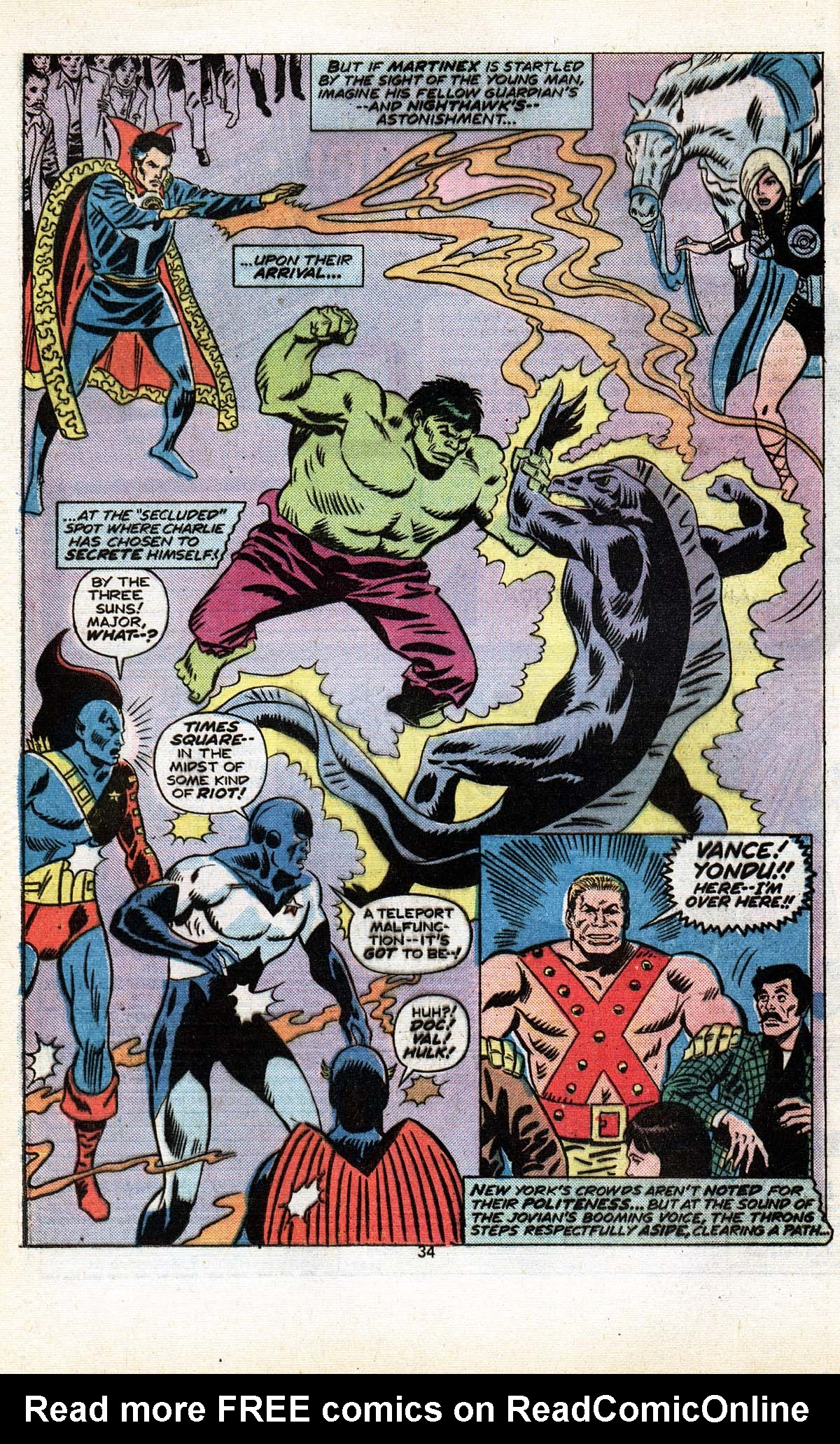 Read online Giant-Size Defenders comic -  Issue #5 - 36