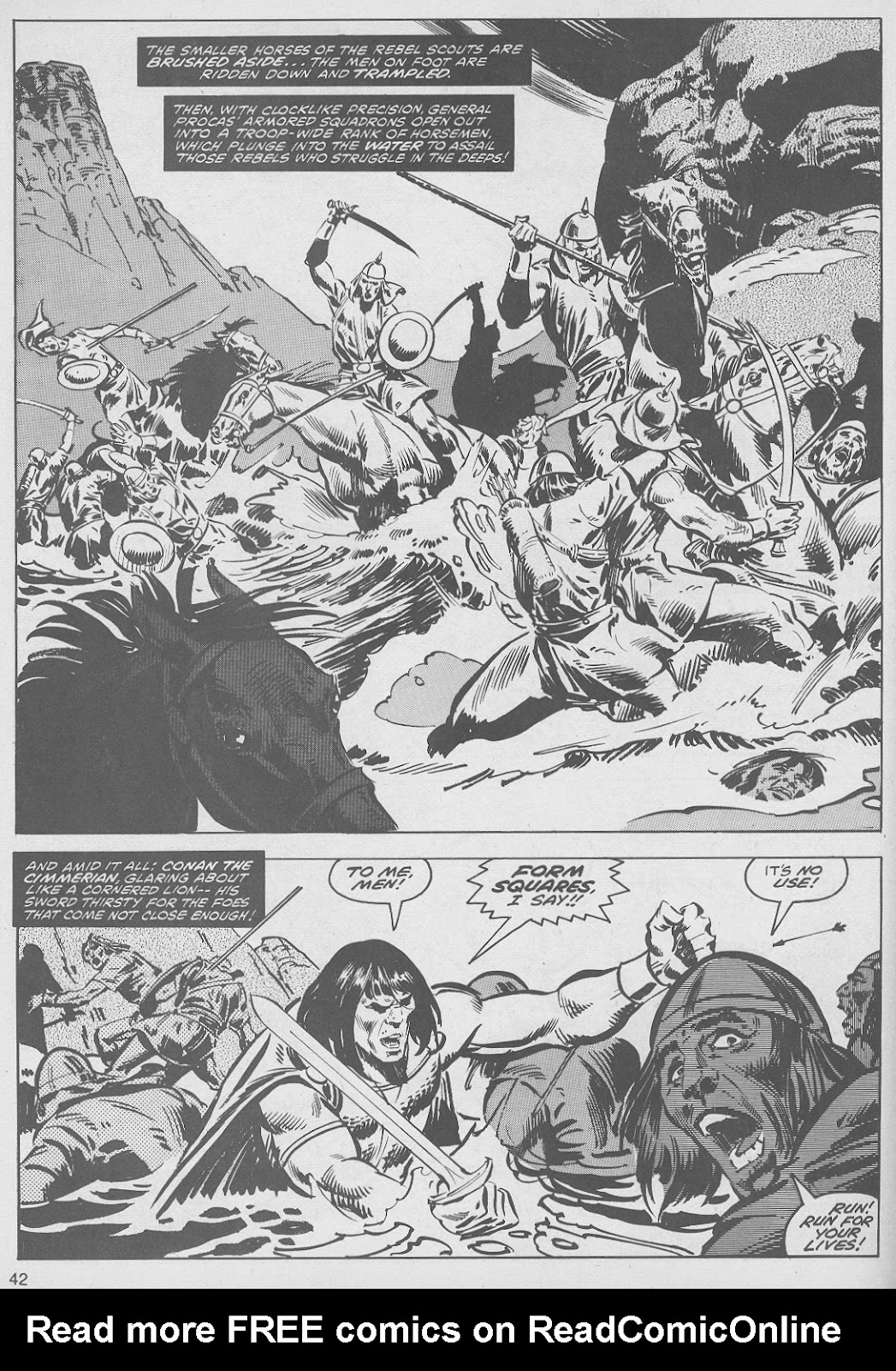The Savage Sword Of Conan Issue #49 #50 - English 42