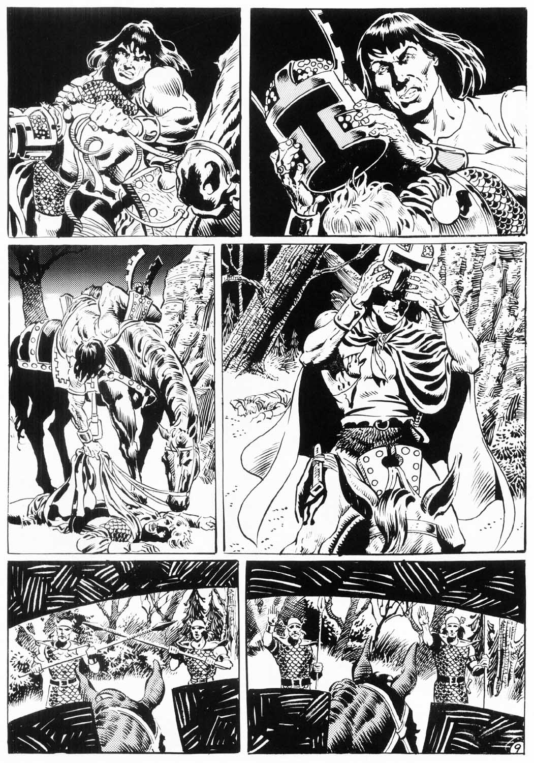 The Savage Sword Of Conan Issue #154 #155 - English 59