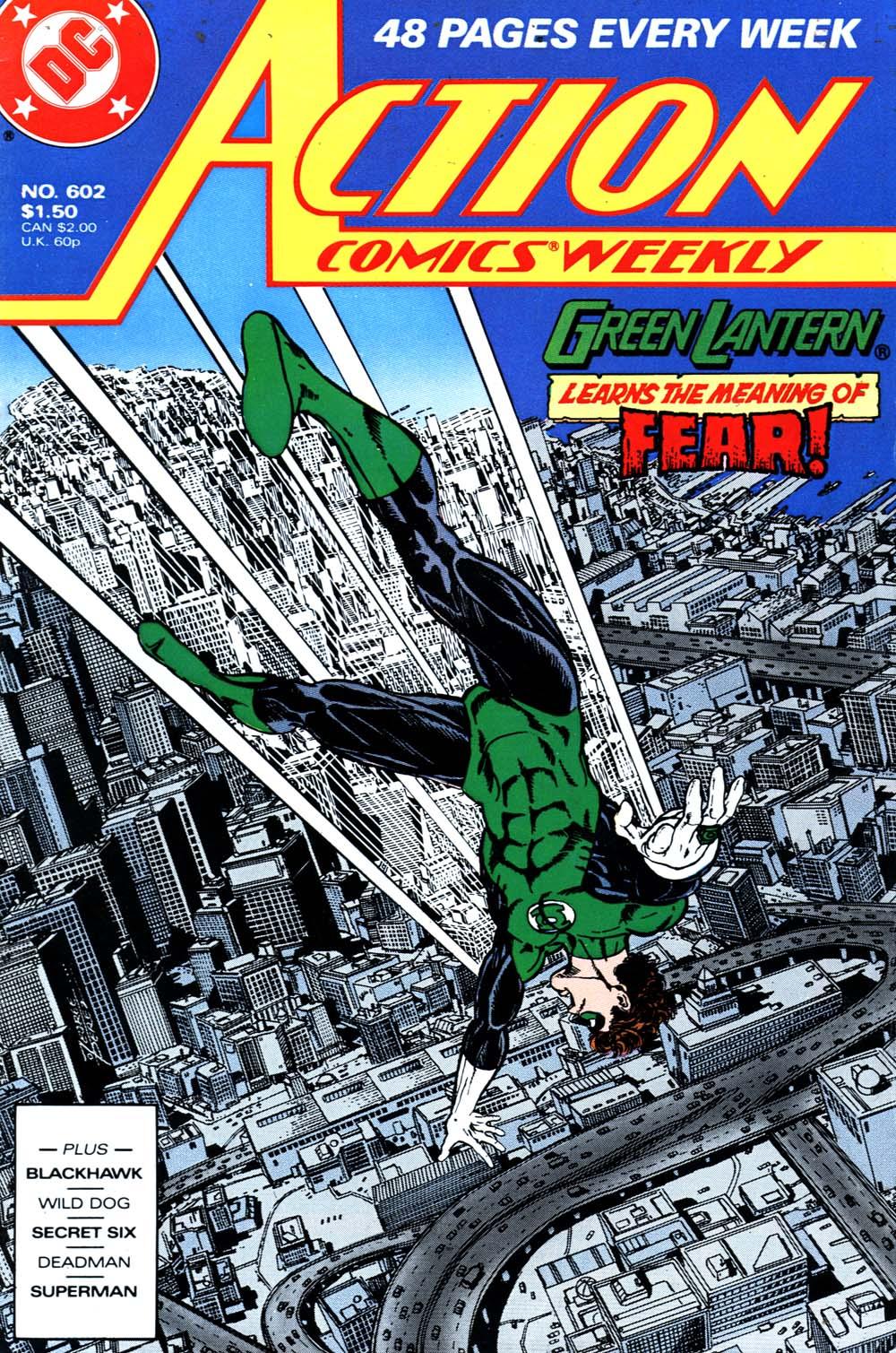 Action Comics (1938) 602 Page 1