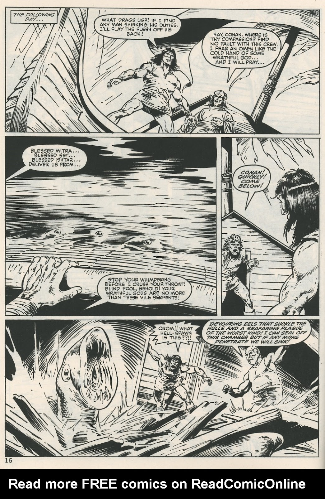 The Savage Sword Of Conan Issue #115 #116 - English 16