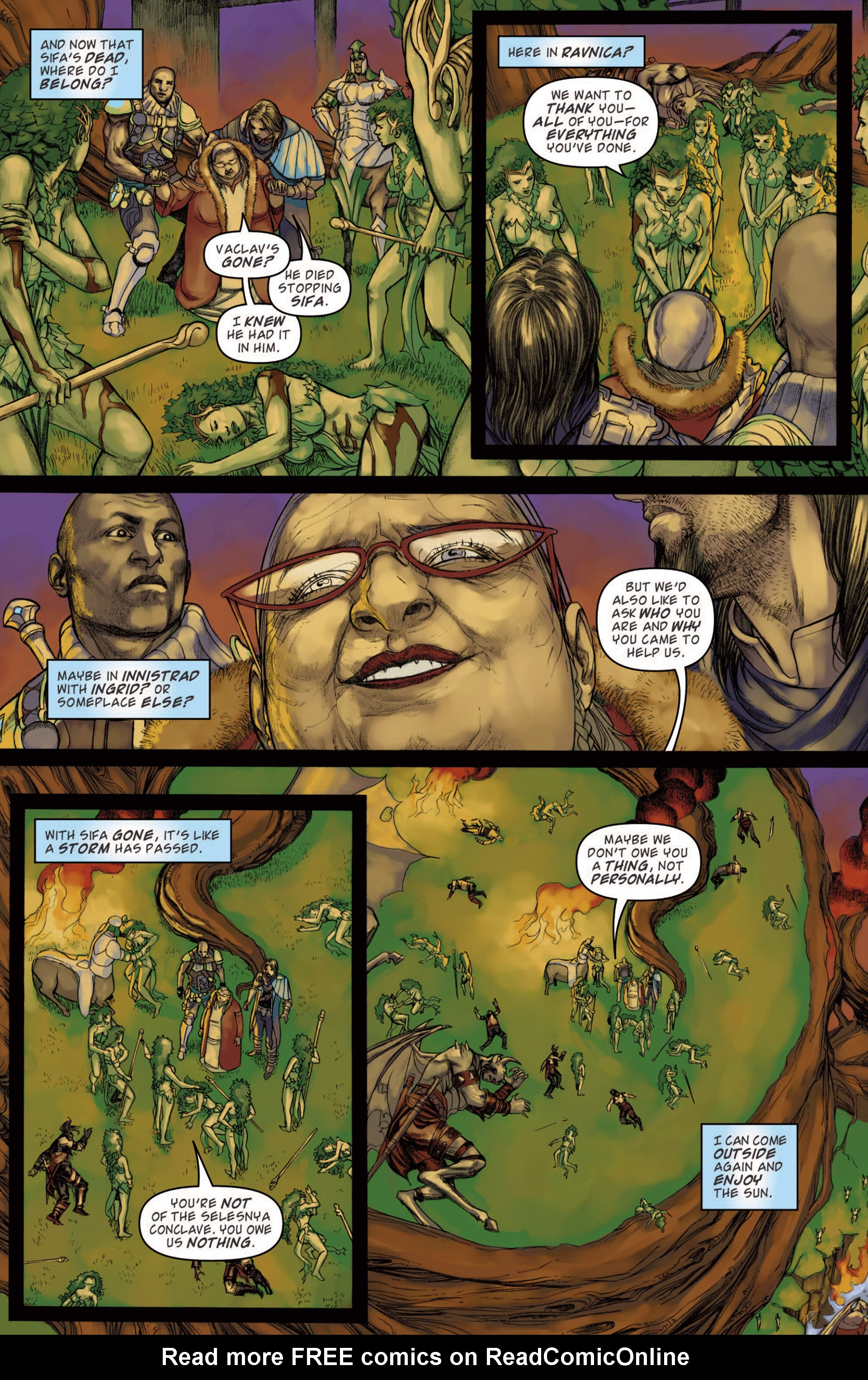 Read online Magic: The Gathering--Path of Vengeance comic -  Issue #4 - 22