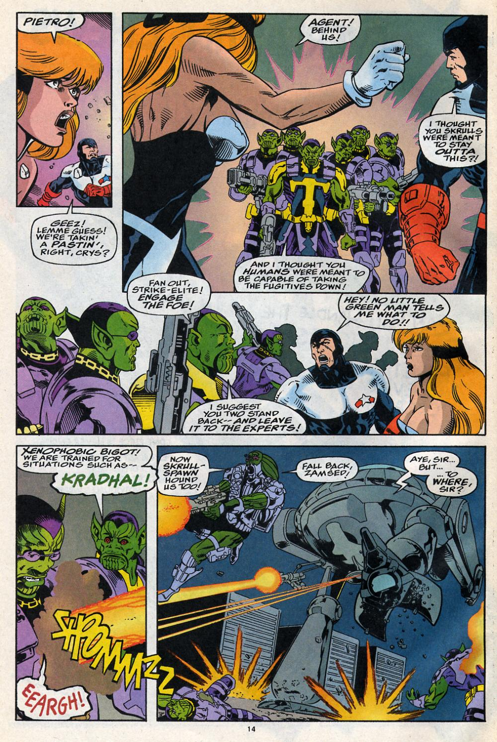 Force Works Issue #14 #14 - English 11