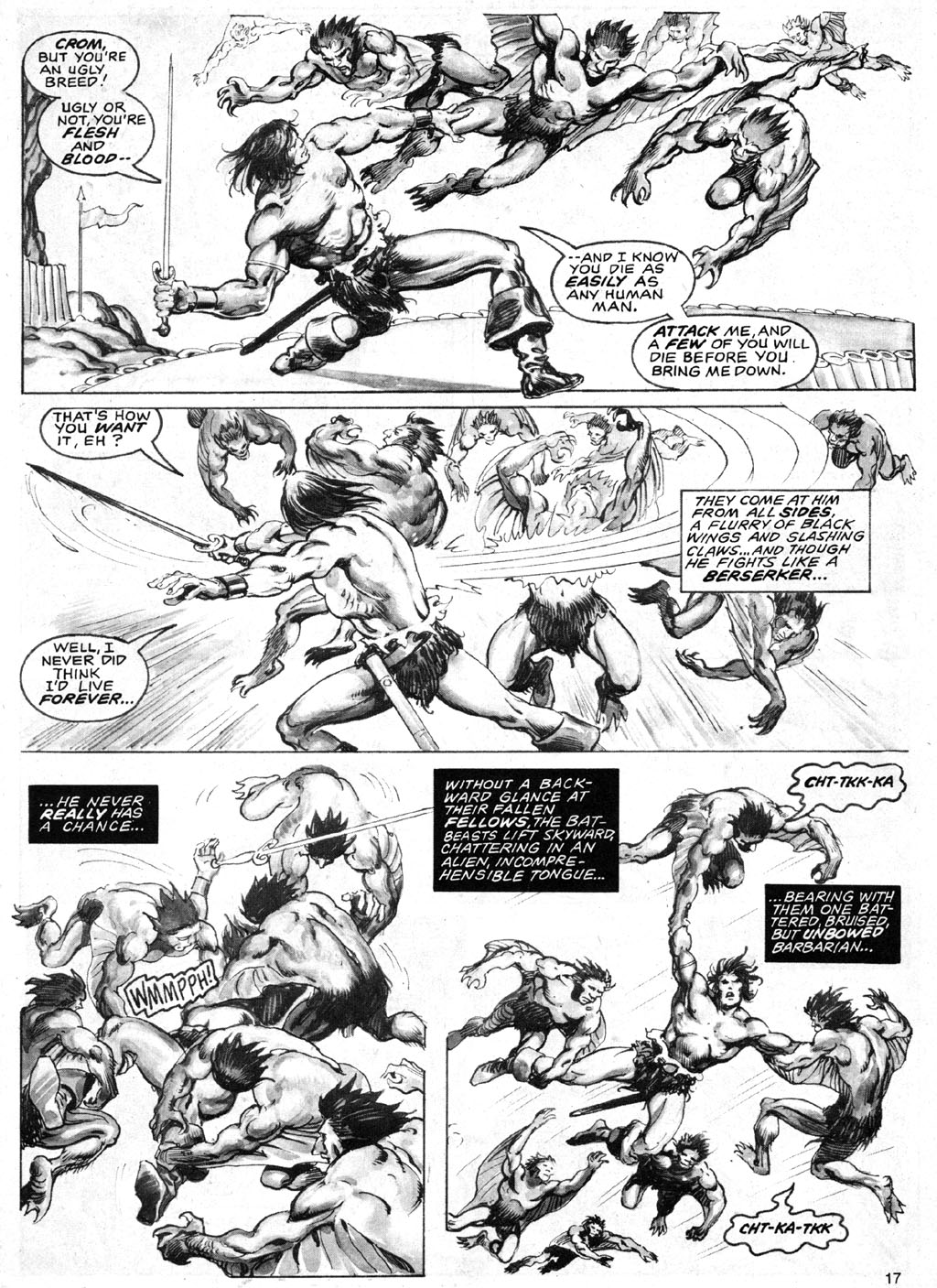 The Savage Sword Of Conan Issue #69 #70 - English 17
